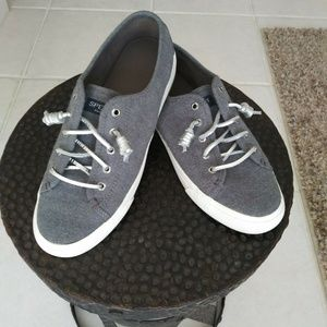 Sperry Top-Sider Women's Sneaker Gray Sz 8.5